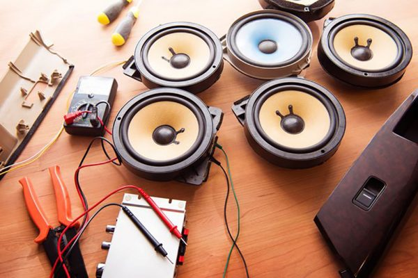 Can car speakers be used in the home theater system