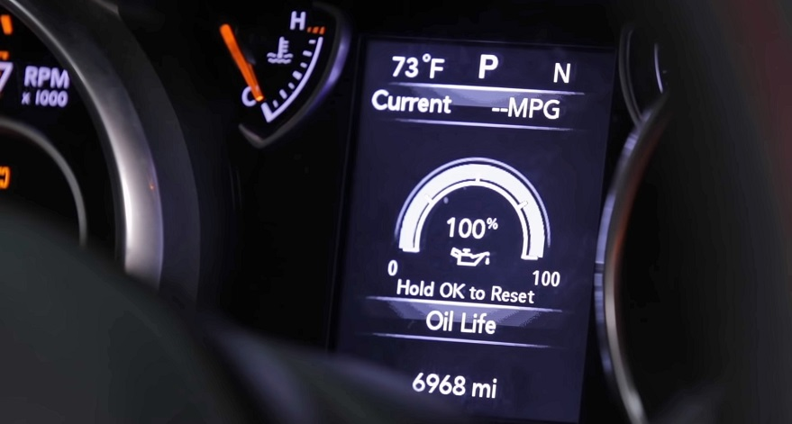 oil life monitor system