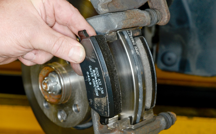 changing brakes